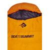 Sea to Summit Trek TkI Slaapzak en Inlet oranje
